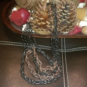 Jewelry - Mixed Metal Layered Necklace